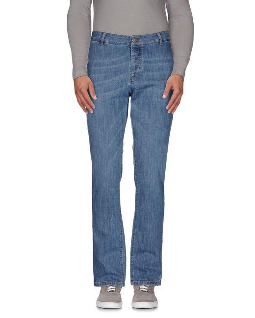 Alessandro Dell'acqua | Blue Denim Trousers for Men | Lyst