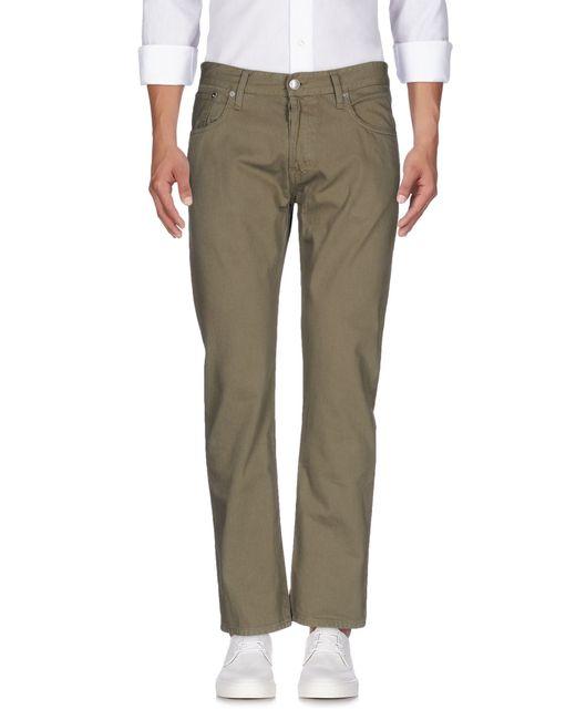 M. Grifoni Denim | Green Denim Trousers for Men | Lyst