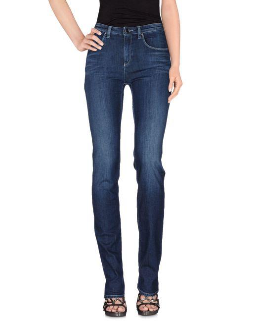 Armani Jeans | Blue Denim Pants | Lyst