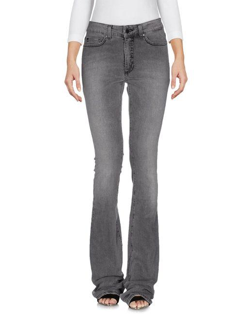 Space Style Concept | Gray Denim Pants | Lyst