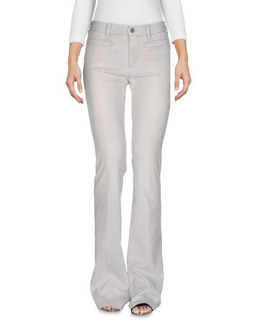 MiH Jeans   Gray Denim Pants   Lyst