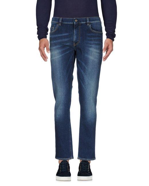 Pence | Blue Denim Trousers for Men | Lyst