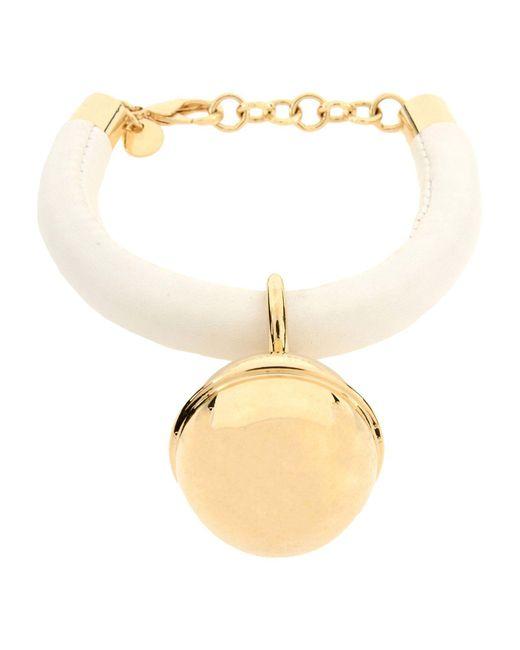 MM6 by Maison Martin Margiela - White Bracelet - Lyst