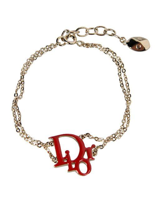 Dior | Red Bracelet | Lyst