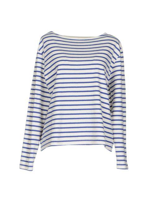WOOD WOOD - Blue T-shirt - Lyst