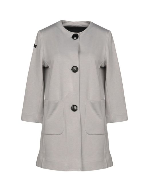 Rrd - Gray Coat - Lyst