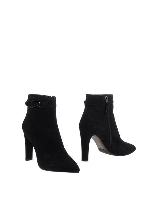 Elvio Zanon | Black Ankle Boots | Lyst