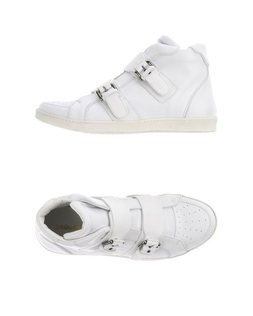 DSquared² | White High-tops & Trainers for Men | Lyst