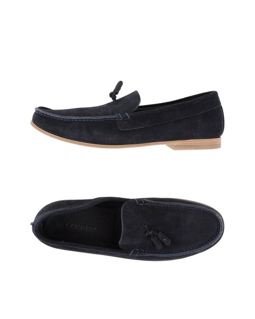 Jil Sander | Blue Loafer for Men | Lyst