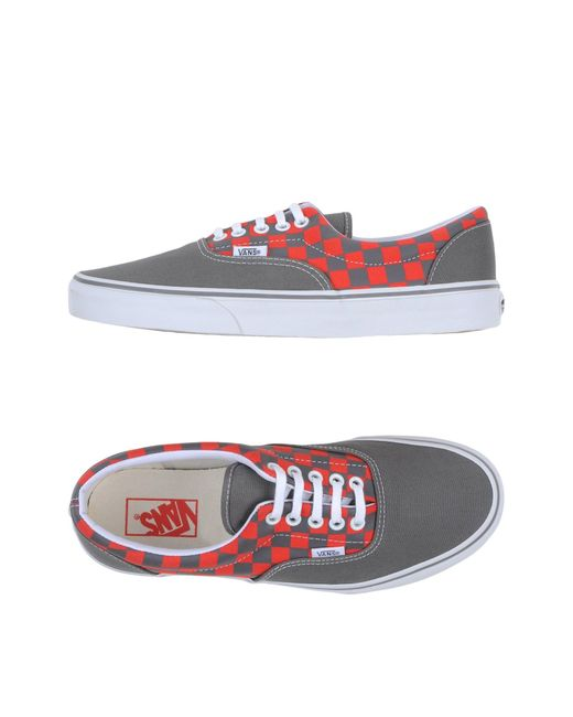 Vans | Gray Low-tops & Sneakers for Men | Lyst