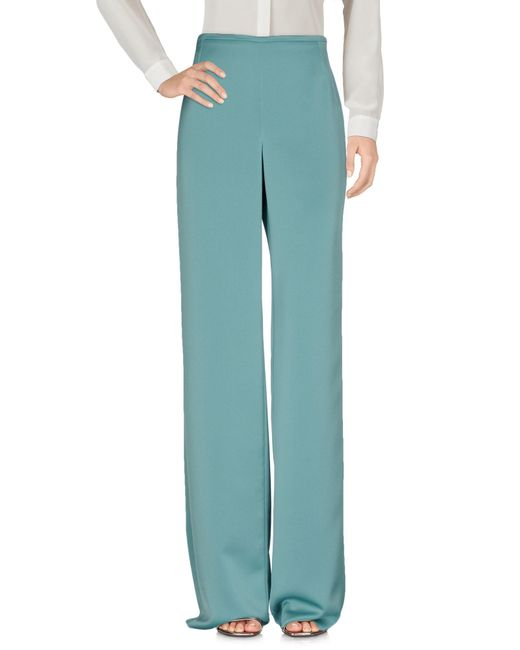 Armani - Green Casual Trouser - Lyst