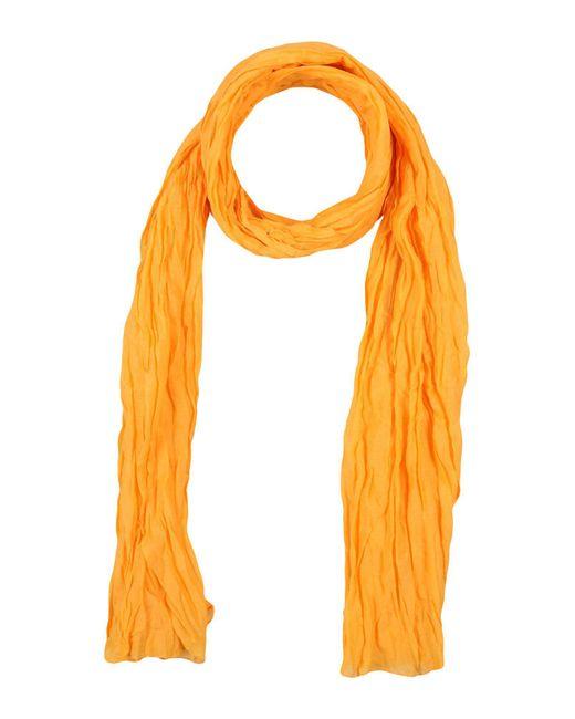 Fraas - Orange Oblong Scarf - Lyst