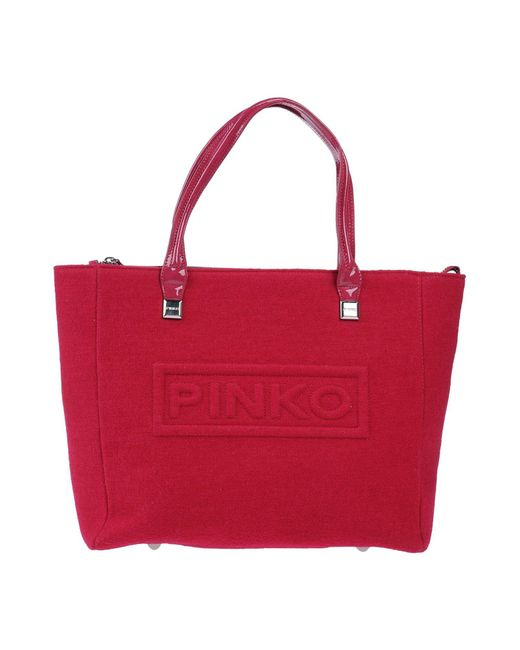 Pinko | Red Handbag | Lyst