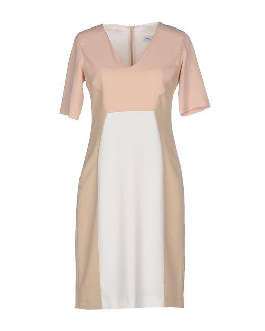 Anna Rachele - Natural Short Dress - Lyst