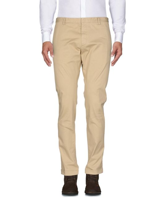 DSquared² - Natural Casual Trouser for Men - Lyst