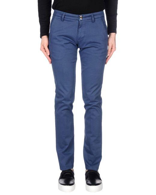 Fradi - Blue Casual Pants for Men - Lyst