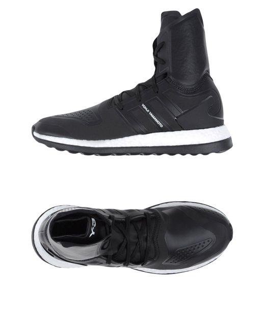 Y-3 - Black High-tops & Sneakers for Men - Lyst