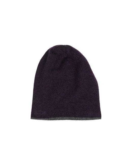 Brunello Cucinelli   Black Cashmere Ribbed Hat for Men   Lyst