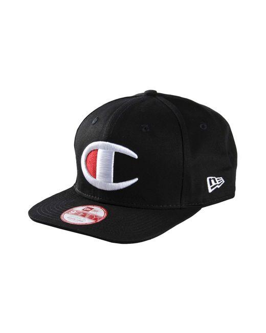 Champion   Black Hat for Men   Lyst