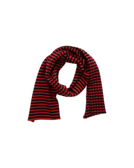 Marc By Marc Jacobs | Red Oblong Scarf | Lyst