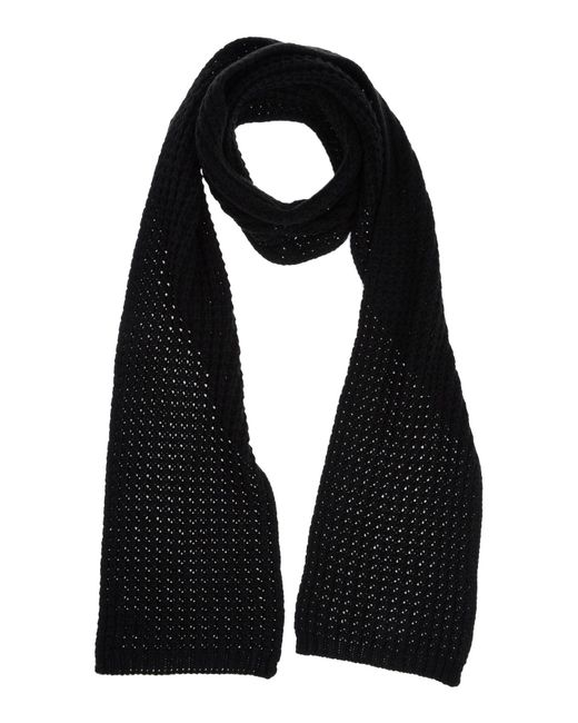 French Connection   Black Oblong Scarf   Lyst