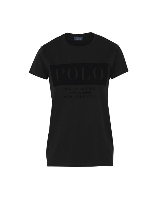 Polo Ralph Lauren | Black T-shirt | Lyst