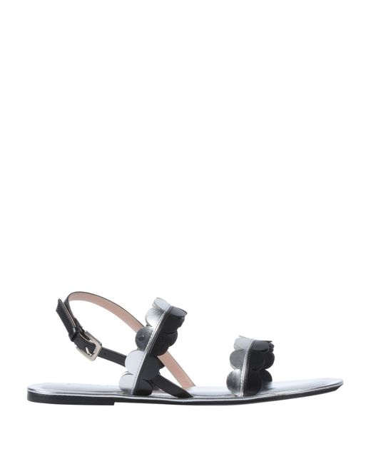 Pollini - Black Sandals - Lyst