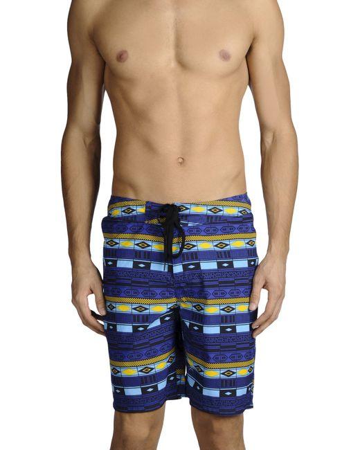Carhartt   Blue Swim Trunks for Men   Lyst