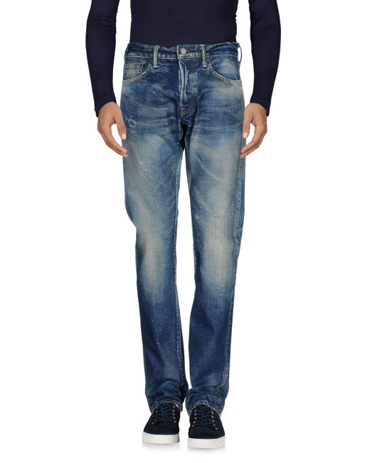 Fabric-Brand & Co. | Blue Denim Pants for Men | Lyst