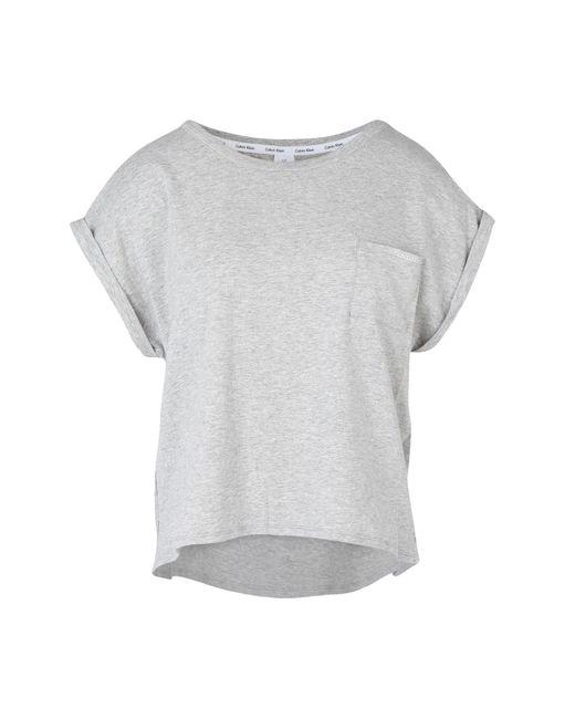 Calvin Klein | Gray Beach Dress | Lyst