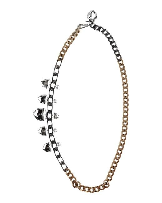 Lanvin | Metallic Necklace | Lyst