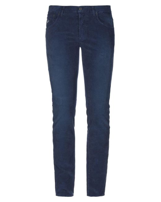 Macchia J Blue Casual Pants for men