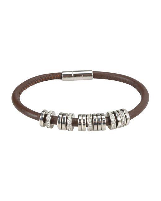 Fossil - Brown Bracelet - Lyst