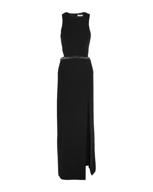 Mugler - Black Long Dress - Lyst