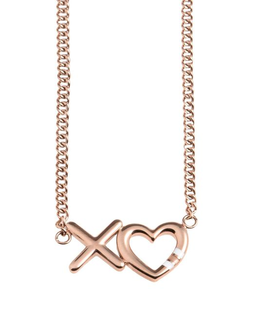 Tommy Hilfiger - Metallic Necklace - Lyst