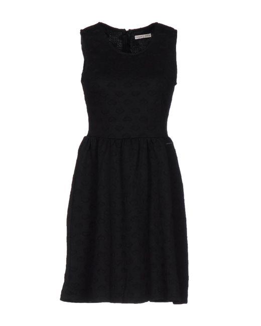 Maison Espin | Black Short Dress | Lyst