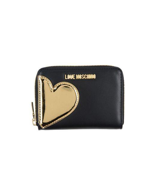 Love Moschino - Black Wallets - Lyst