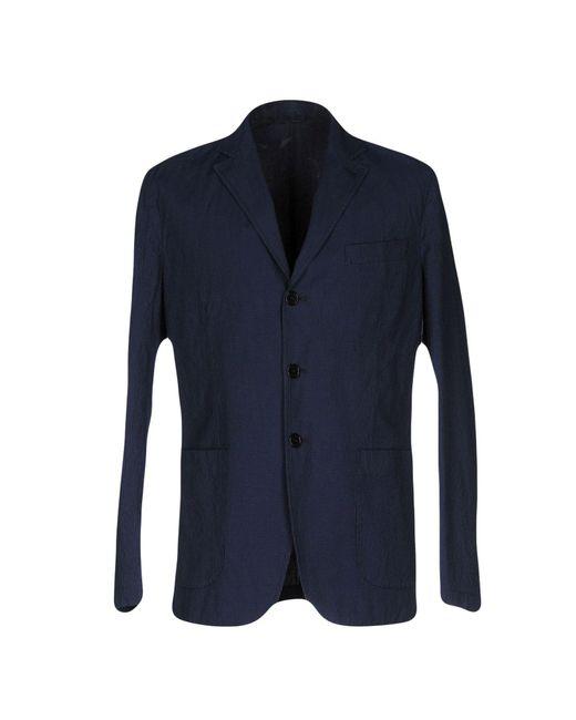 Aspesi | Blue Blazer for Men | Lyst