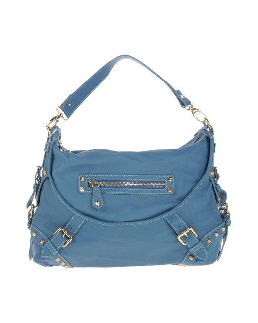 Balmain - Blue Shoulder Bag - Lyst