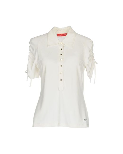 Angelo Marani - White Shirt - Lyst