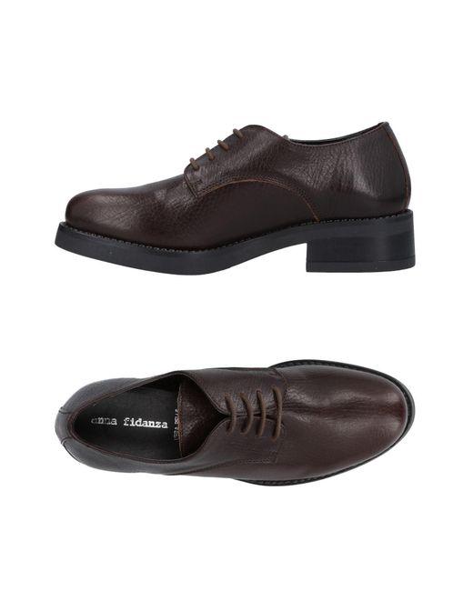 Anna Fidanza Chaussures À Lacets Gz9nAd9FGe