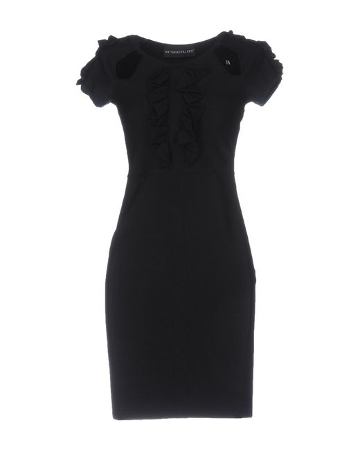 Antonino Valenti - Black Short Dresses - Lyst