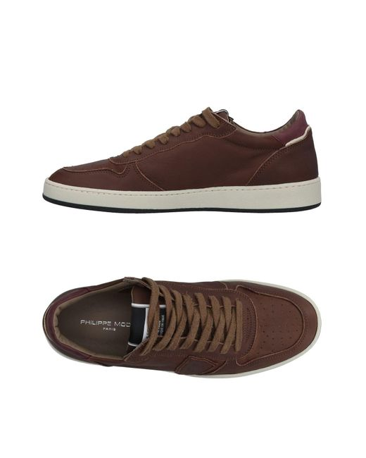 Philippe Model - Brown Low-tops & Sneakers for Men - Lyst