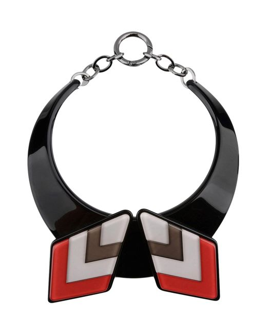 Emporio Armani - Black Necklaces - Lyst