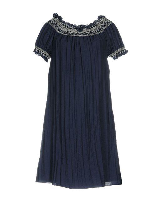 Darling - Blue Knee-length Dresses - Lyst