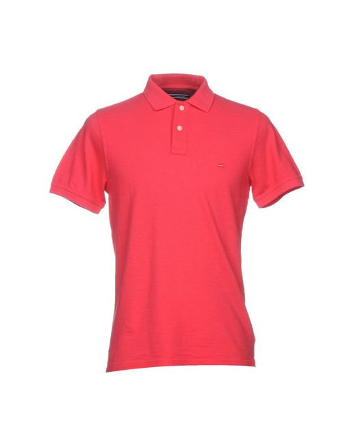 Tommy Hilfiger - Pink Polo Shirts for Men - Lyst