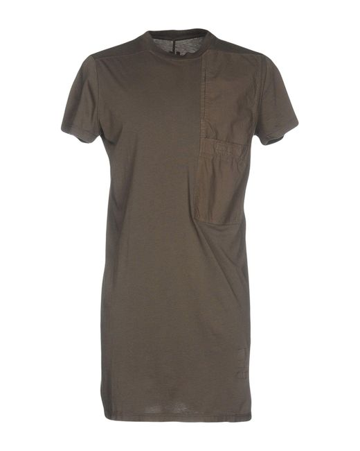 DRKSHDW by Rick Owens - Multicolor T-shirt for Men - Lyst