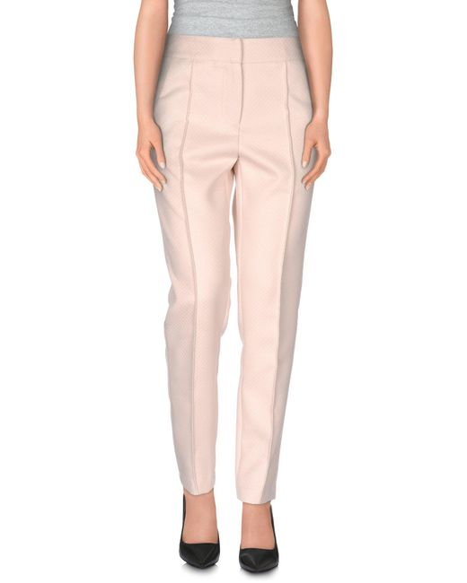 Darling - Pink Casual Trouser - Lyst