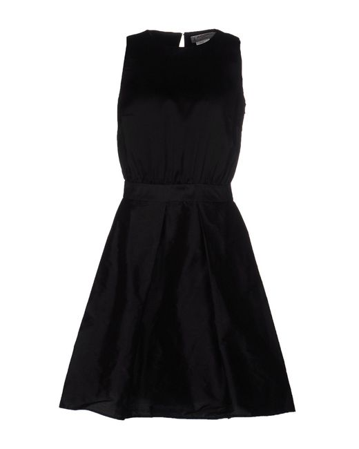 Alberto Biani - Black Knee-length Dress - Lyst