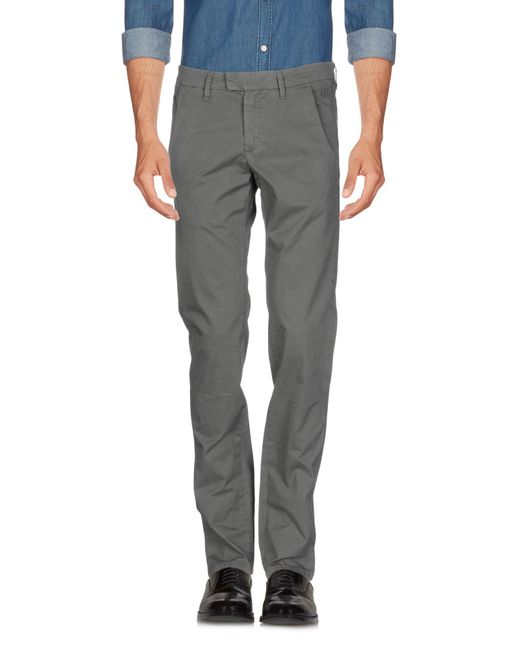 Jeckerson - Gray Casual Pants for Men - Lyst